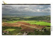 Sunlit Farms And Fields Below Arcos De La Frontera Andalusia Spa Carry-all Pouch
