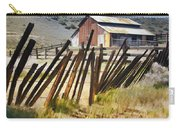 Sunlit Fence Carry-all Pouch