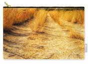 Sunlit Grasses Carry-all Pouch