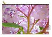 Sunlit Hydrangea Flowers Garden Art Prints Baslee Troutman Carry-all Pouch