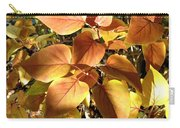 Sunlit Lilac Leaves Carry-all Pouch