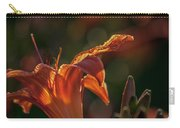 Sunlit Lilly Carry-all Pouch
