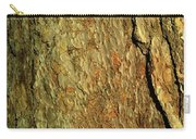 Sunlit Tree Bark Carry-all Pouch