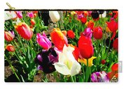 Sunlit Tulips Carry-all Pouch