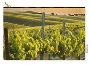 Sunlit Vineyard Carry-all Pouch