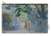 Sunlit Wall Under A Tree Carry-all Pouch