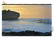 Sunlit Waves - Kauai Dawn Carry-all Pouch