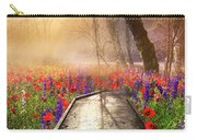 Sunlit Wildflowers Carry-all Pouch