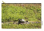 Sunning Turtle In Swamp Carry-all Pouch