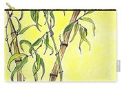 Sunny Bamboo Carry-all Pouch