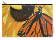 Sunny Butterfly Carry-all Pouch