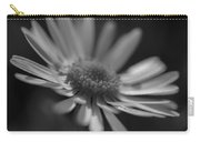 Sunny Daisy Black And White 2 Carry-all Pouch