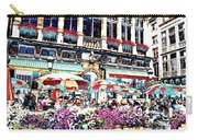 Sunny Day On The Grand Place Carry-all Pouch