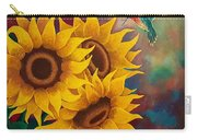 Sunny Faces Carry-all Pouch