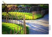 Sunny Garden Path Carry-all Pouch
