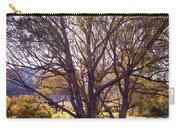 Sunny Mono Tree Carry-all Pouch
