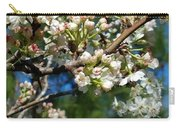 Sunny Pear Blossoms Carry-all Pouch