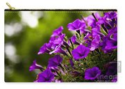 Sunny Petunias 1 Carry-all Pouch