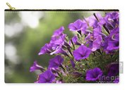 Sunny Petunias 2 Carry-all Pouch