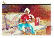 Sunny Retreat 3 Carry-all Pouch by Kathy Braud