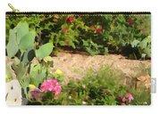 Sunny Rock Garden Carry-all Pouch
