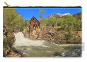Sunny Skies Over The Crystal Mill Carry-all Pouch