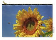 Sunny Sunflower Soloist With Backup Chorus Carry-all Pouch