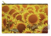 Sunny Sunflower Sunset Carry-all Pouch