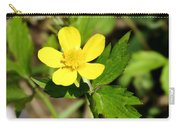 Sunny Yellow Buttercup Carry-all Pouch