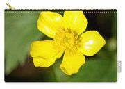 Sunny Yellow Cinquefoil Carry-all Pouch