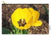Sunny Yellow Tulips Carry-all Pouch