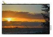 Sunrays And Clouds Carry-all Pouch