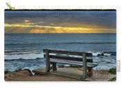 Sunrays On The Horizon Carry-all Pouch