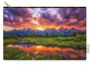 Sunrays Over The Tetons Carry-all Pouch