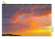 Sunrise And Clouds Over Pigeon Cove Carry-all Pouch