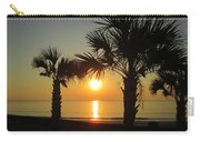 Sunrise And Palms Carry-all Pouch