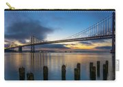 Sunrise At Bay Bridge Carry-all Pouch