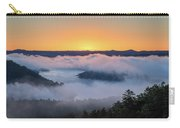 Sunrise At Broken Bow Lake Carry-all Pouch