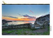Sunrise At Castle Rock Marblehead Ma Rocky Coast Carry-all Pouch