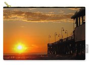 Sunrise At Daytona Beach Pier  004 Carry-all Pouch
