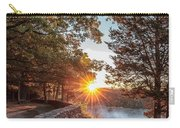 Sunrise At Great Bend Carry-all Pouch