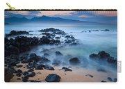 Sunrise At Ho'okipa - Sunrise At Hookipa Beach In Maui Carry-all Pouch