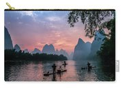 Sunrise At Lee River Carry-all Pouch