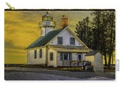 Sunrise At Mission Point Light Carry-all Pouch