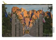 Sunrise At Mount Rushmore Promenade Carry-all Pouch