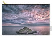 Sunrise At Mumbles Lighthouse Carry-all Pouch
