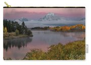 Sunrise At Oxbow Bend Carry-all Pouch