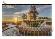 Sunrise At Pineapple Fountain Carry-all Pouch