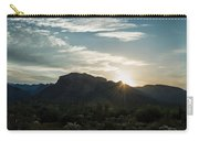 Sunrise At Sabino Canyon Carry-all Pouch
