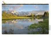 Sunrise At Schwabacher Landing Carry-all Pouch